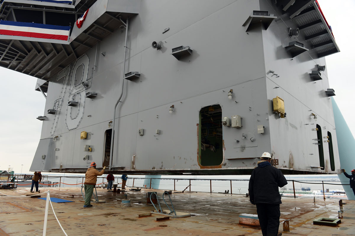 Gerald R Ford Class Aircraft Carrier Military Com