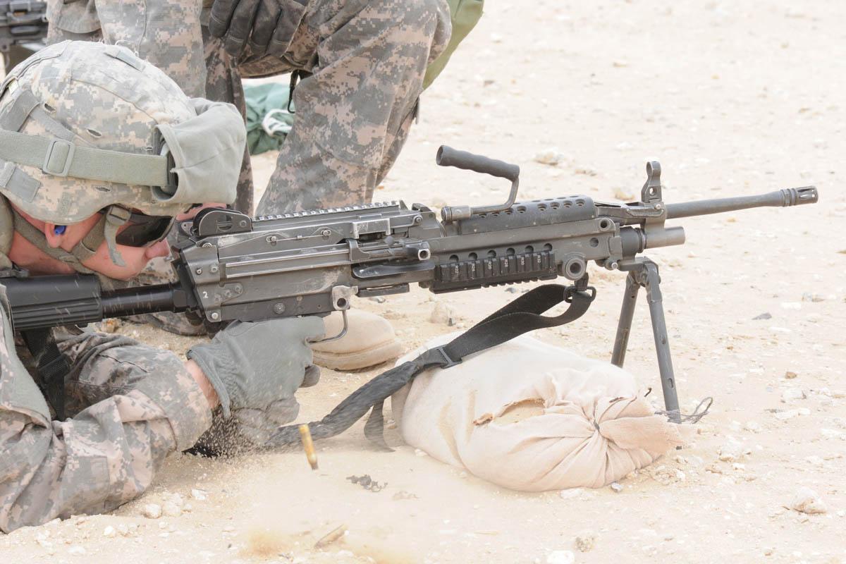 M249 Squad Automatic Weapon   Military.com