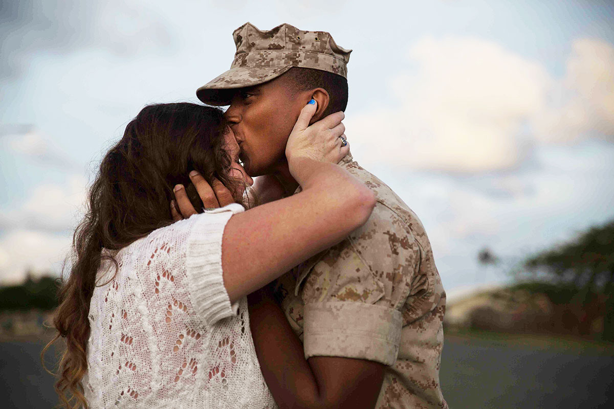 Welcome home Hawaii Marines