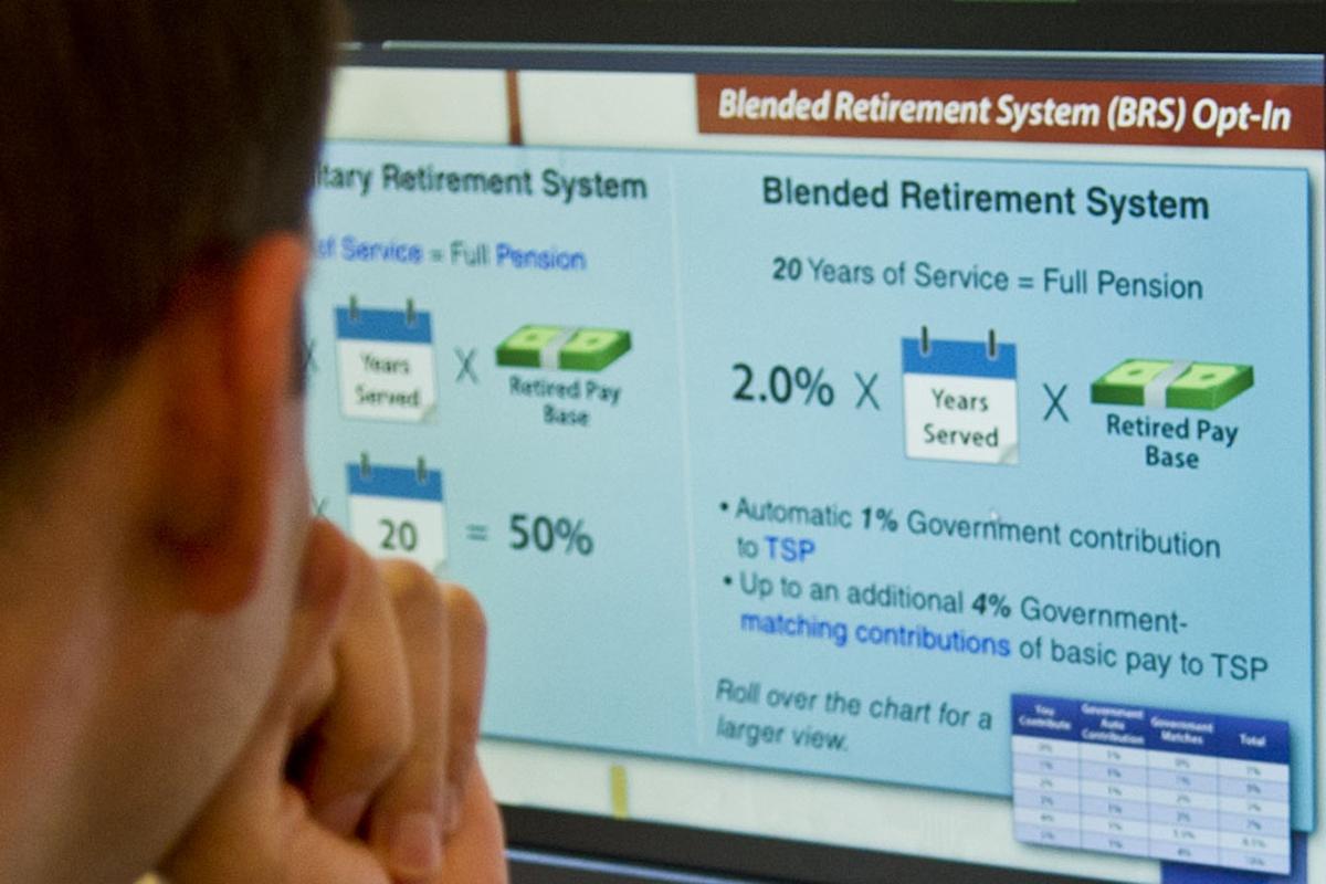 The blended retirement system explained military nvjuhfo Gallery
