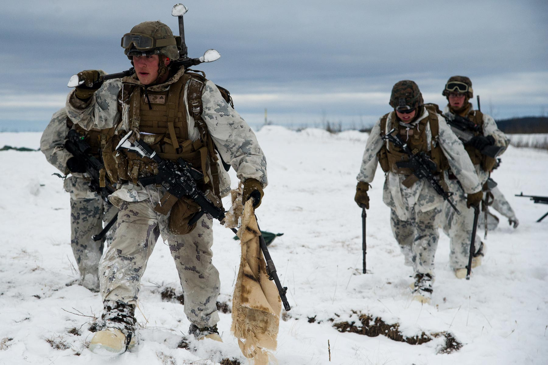 More Marines May Head to Alaska for Cold Weather Training: Senator
