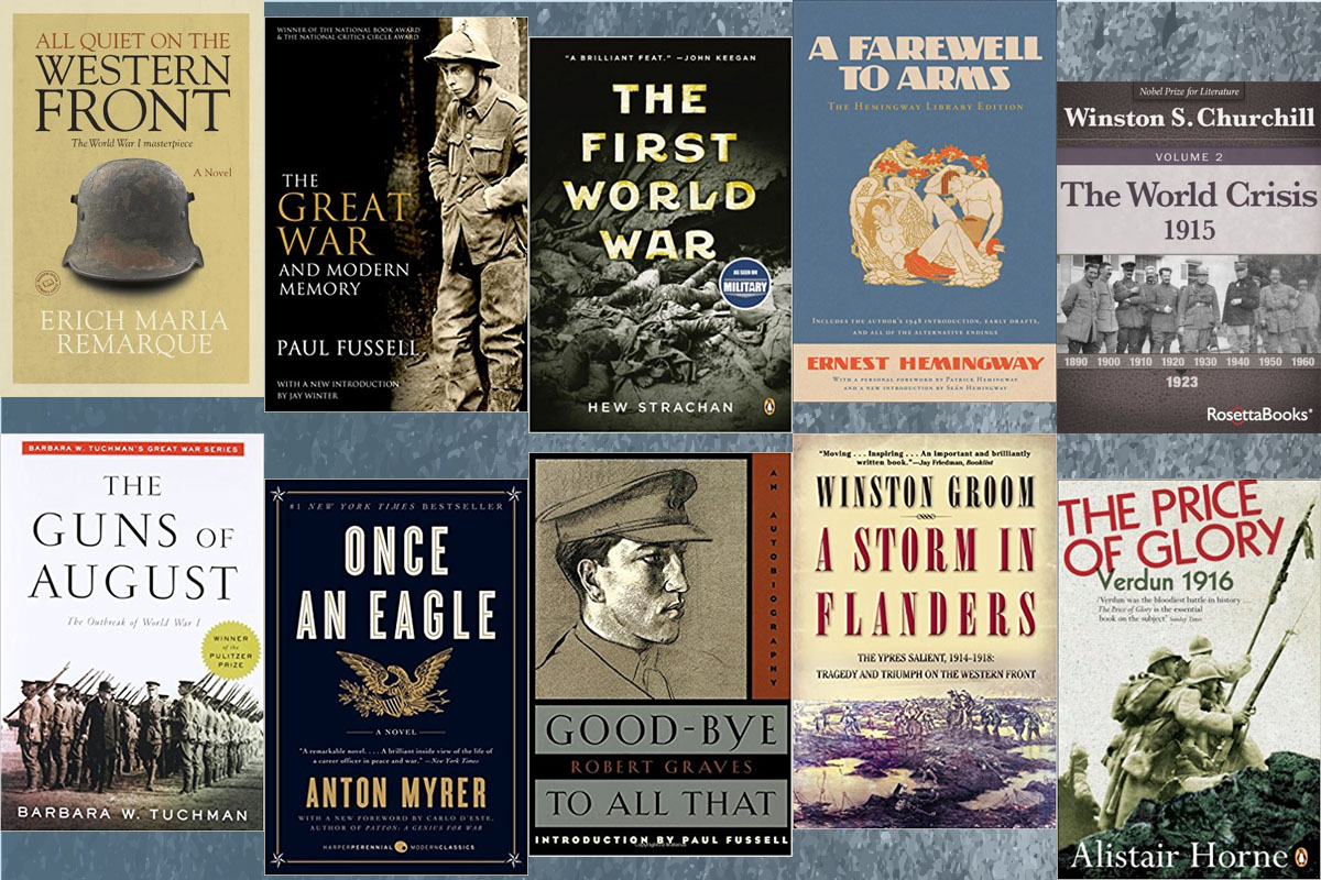 world war i  top 10 books