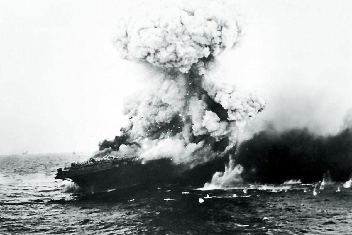 How the First Aircraft Carrier Battle in History Could Have Ended