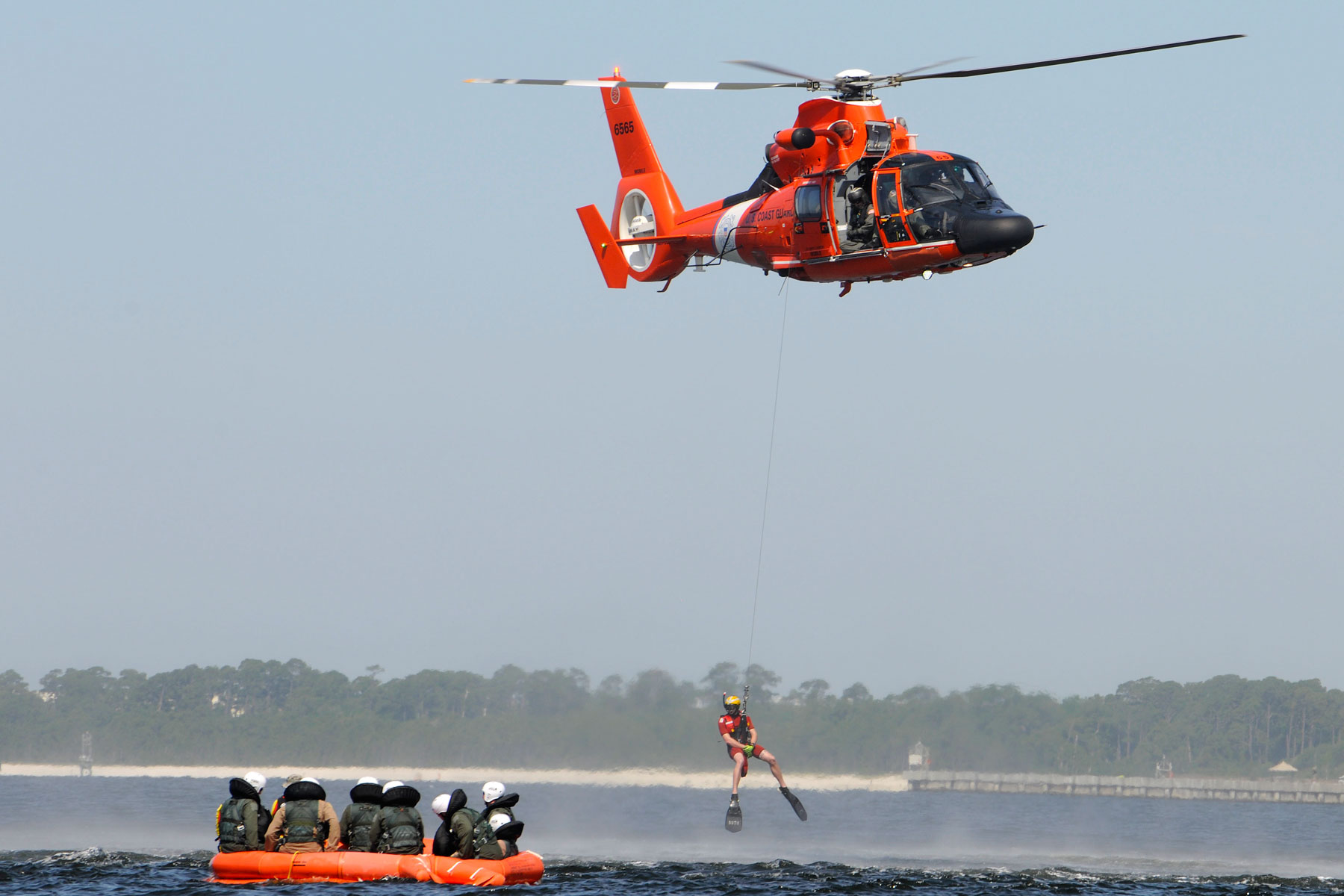 Coast Guard Member Rescues Struggling Swimmer on Wedding Day