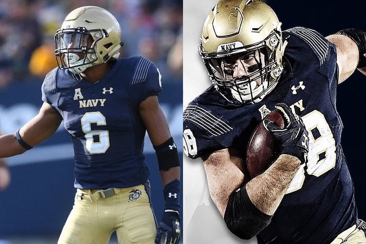Navy Football Captains Promoting Culture as Key to Success in 2018