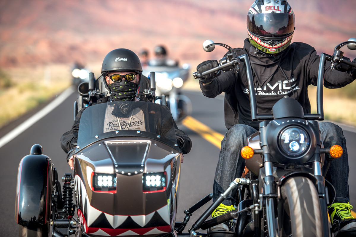 Wounded Warriors + Motorcycles = Healing Trauma on the Open Road