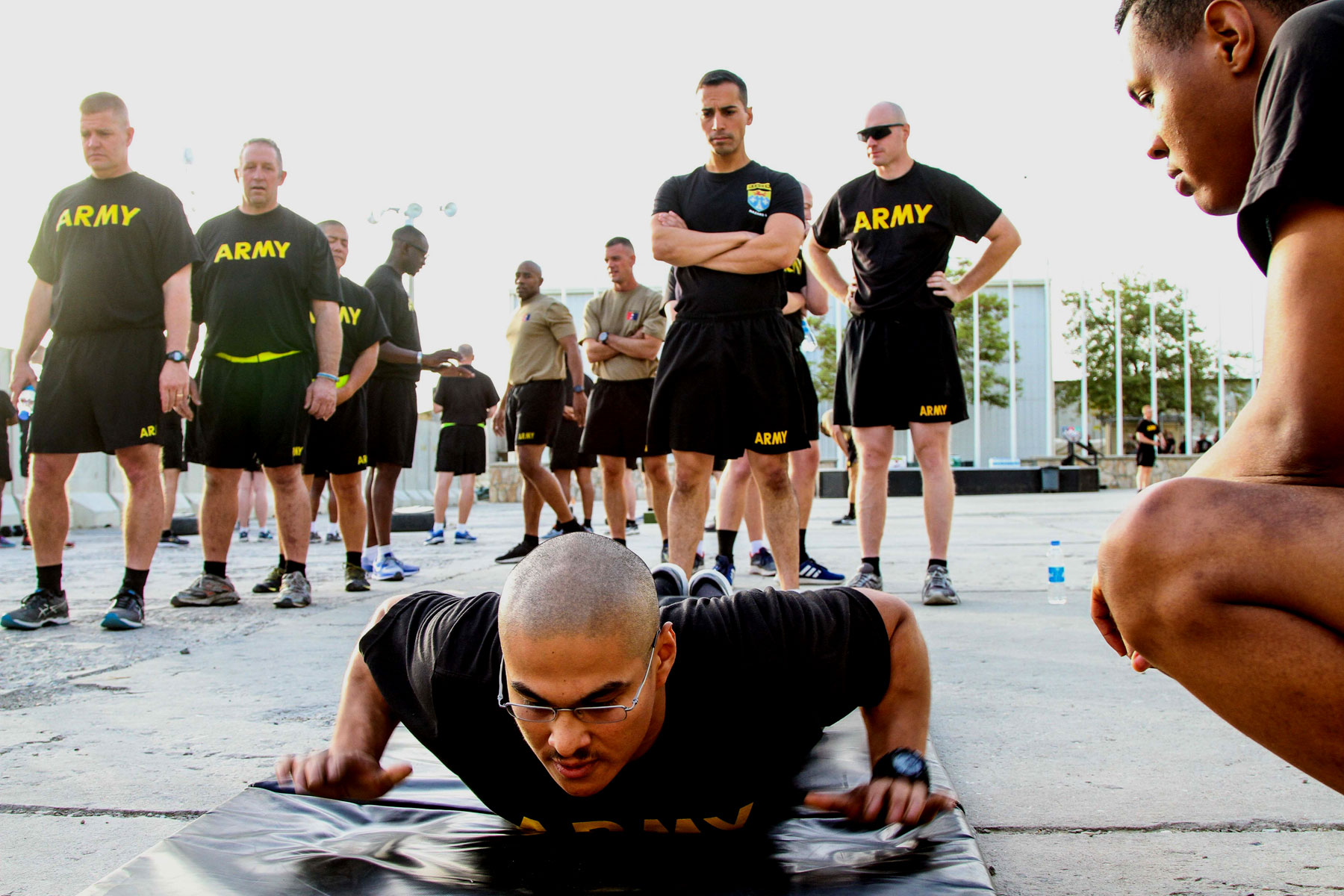 For Some Soldiers, New, Tougher Army Fitness Test a Jarring