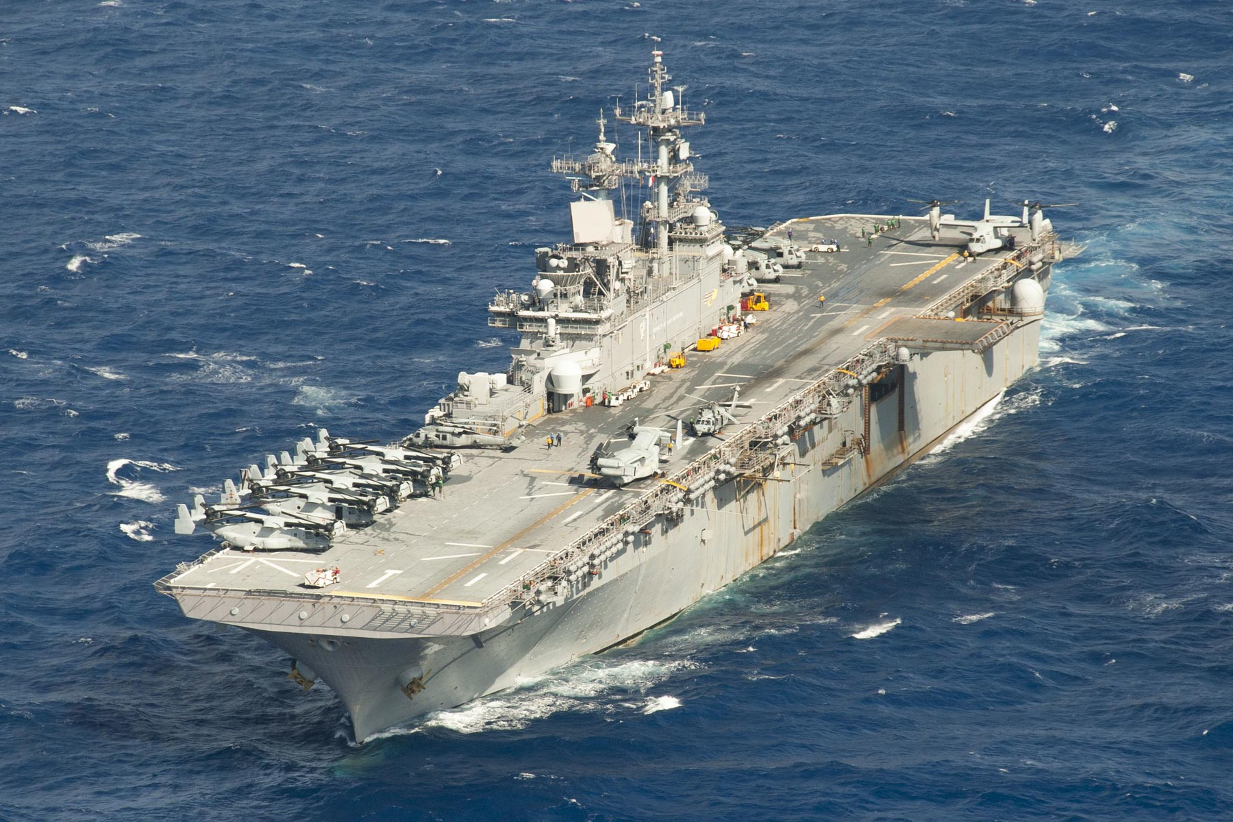 China Denies Request For A Hong Kong Port Call By Uss Wasp