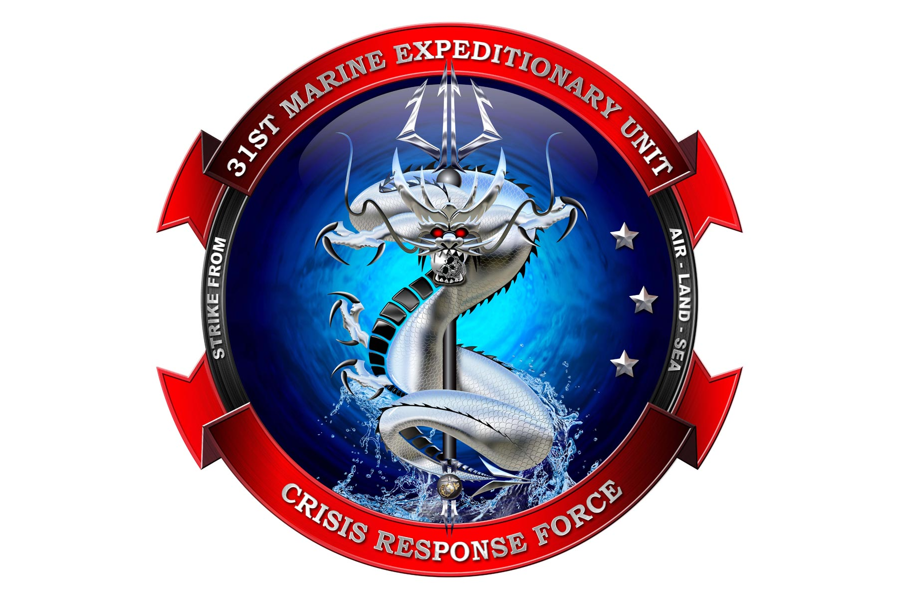 Two Junior Marines Created The 31st Meu S Bold New Logo