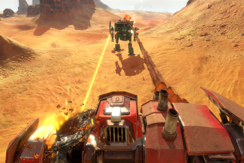 Preview: 'Vox Machinae' is 'Steel Batallion' on Oculus Rift VR