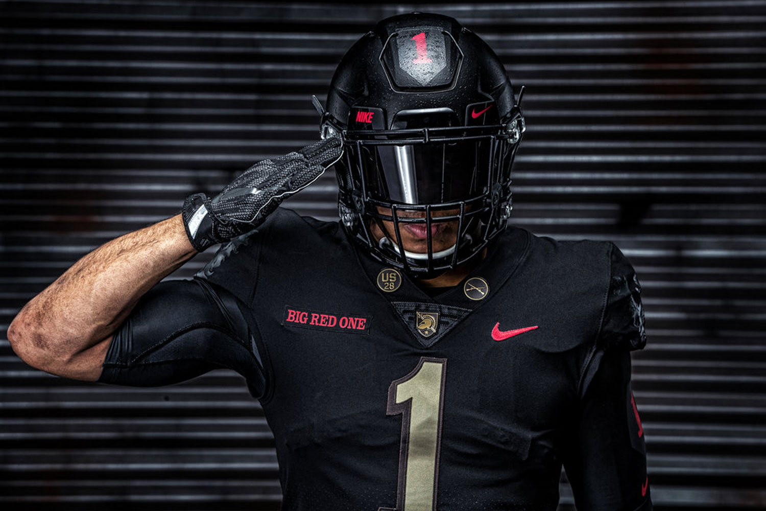 Army Honors Big Red One with Army-Navy Game Uniforms  4e654a450