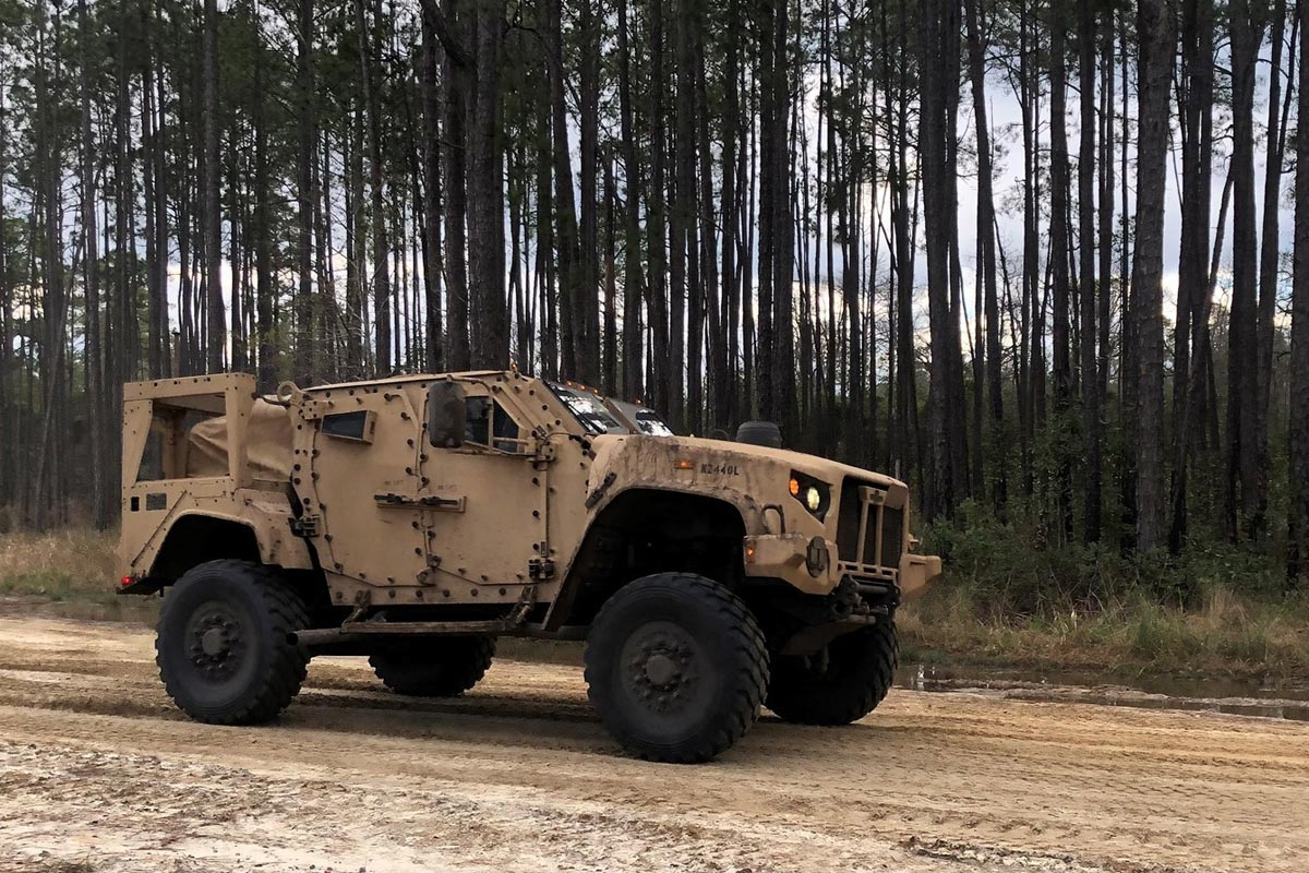 soldiers total jltv days after delivery