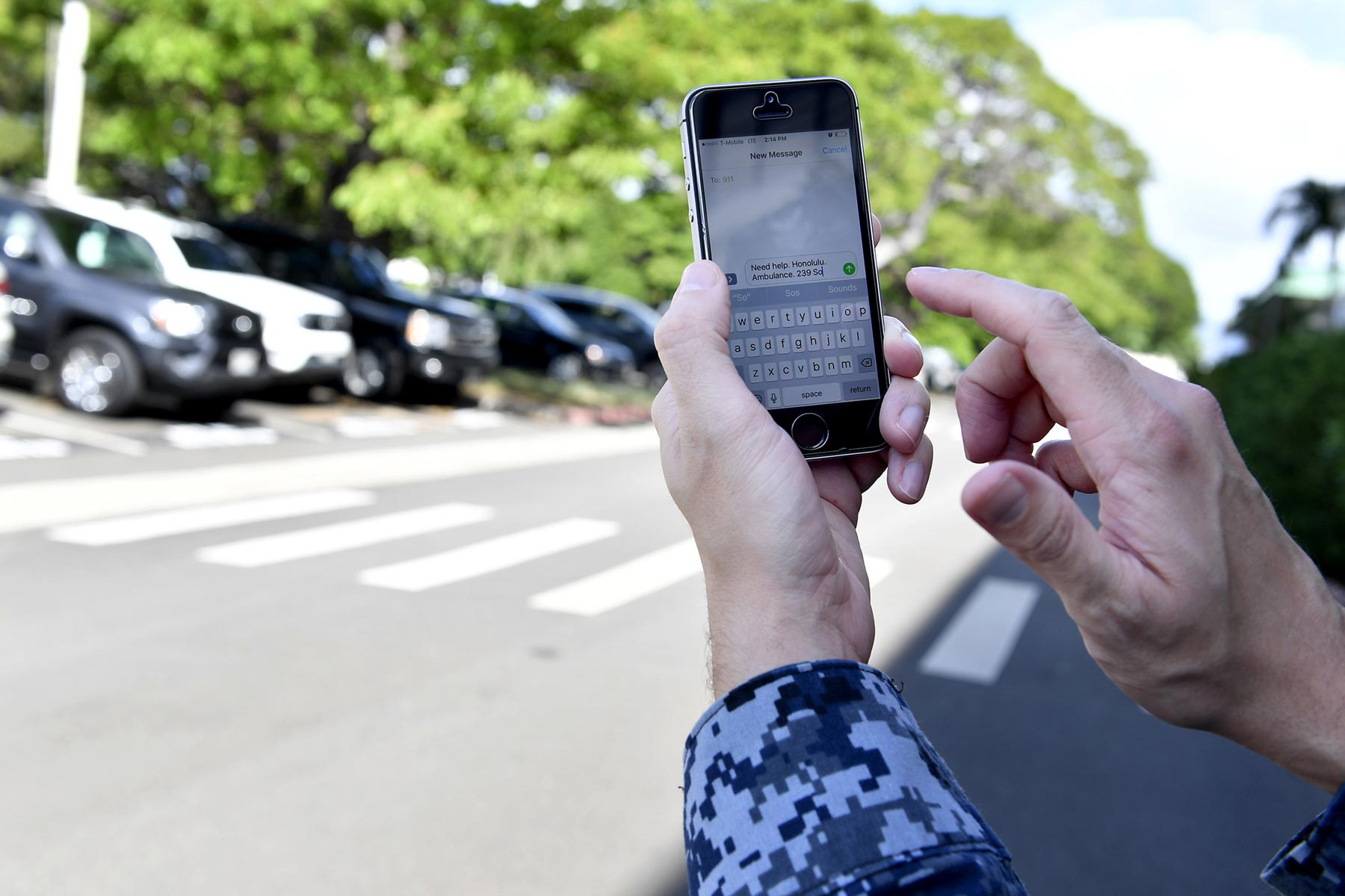 Navy First Service to Test Smartphone Access to Personnel Records