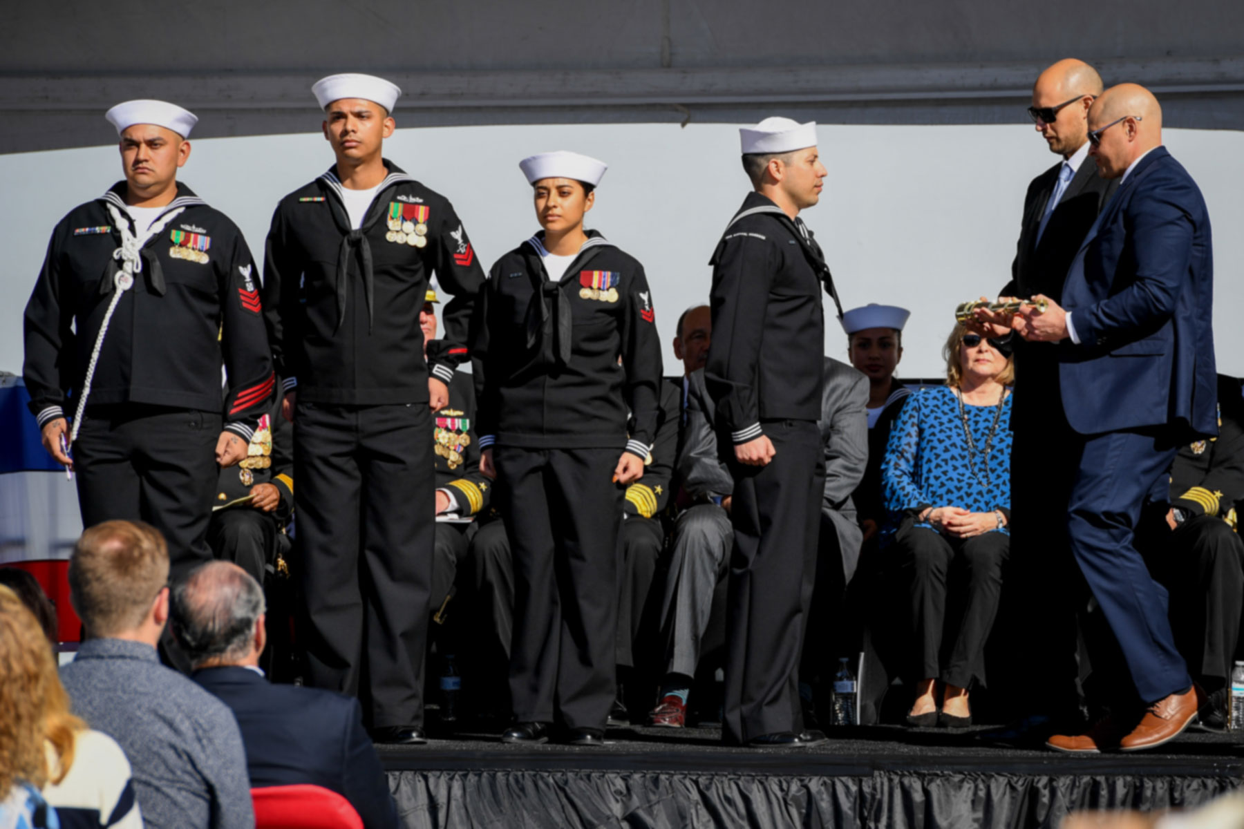 Uss Michael Monsoor Commissioning Honors Legacy Of Navy