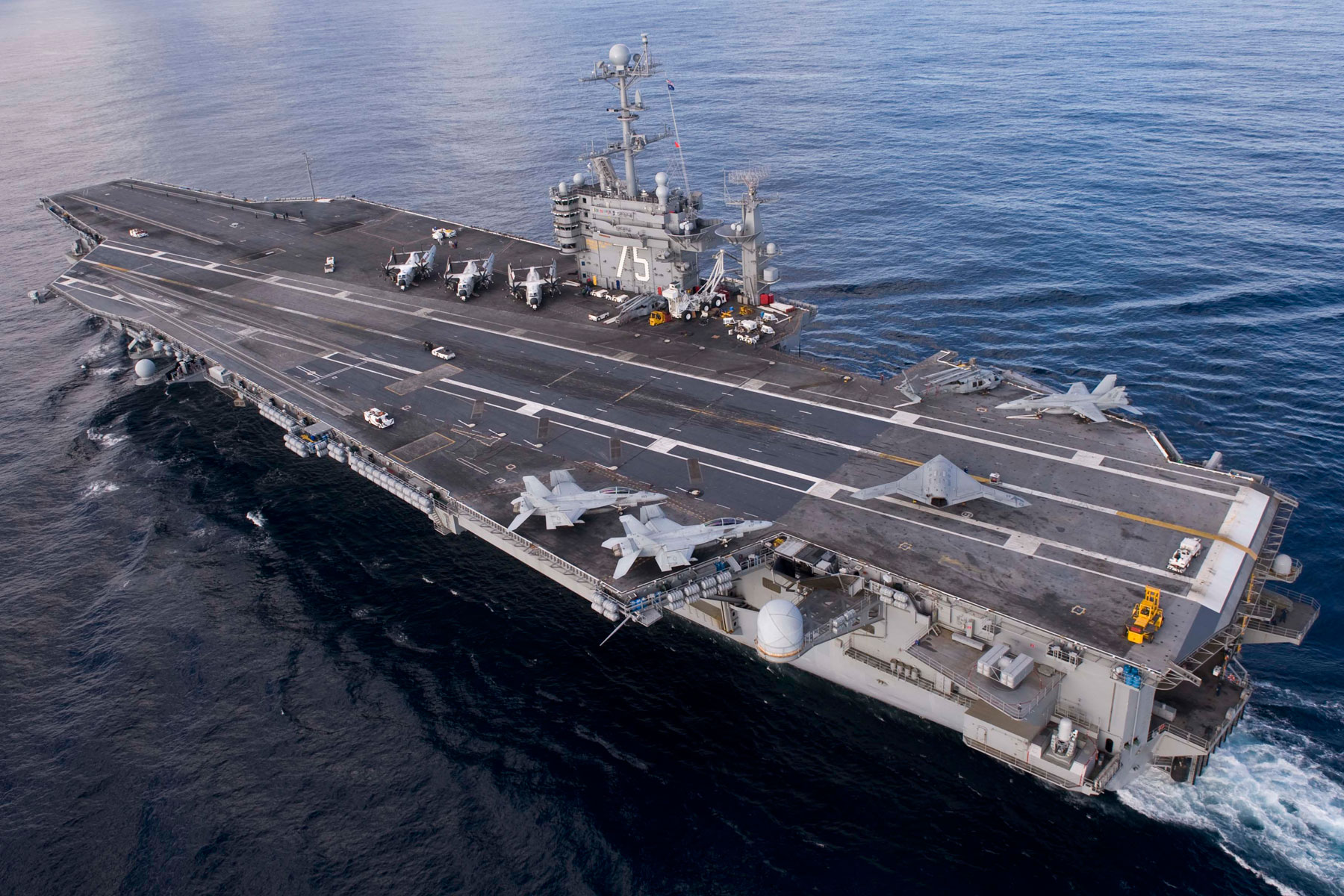 Navy to Congress: You Need to Let Us Retire Carrier Truman
