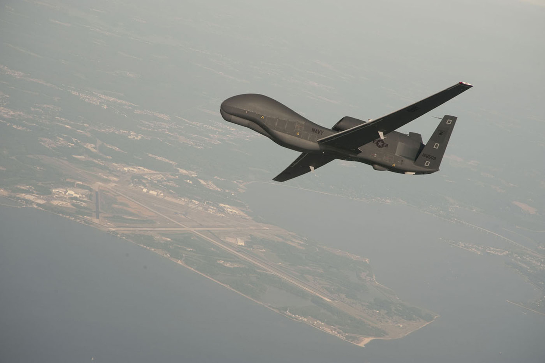 $180 Million Navy Drone Damaged in Middle East