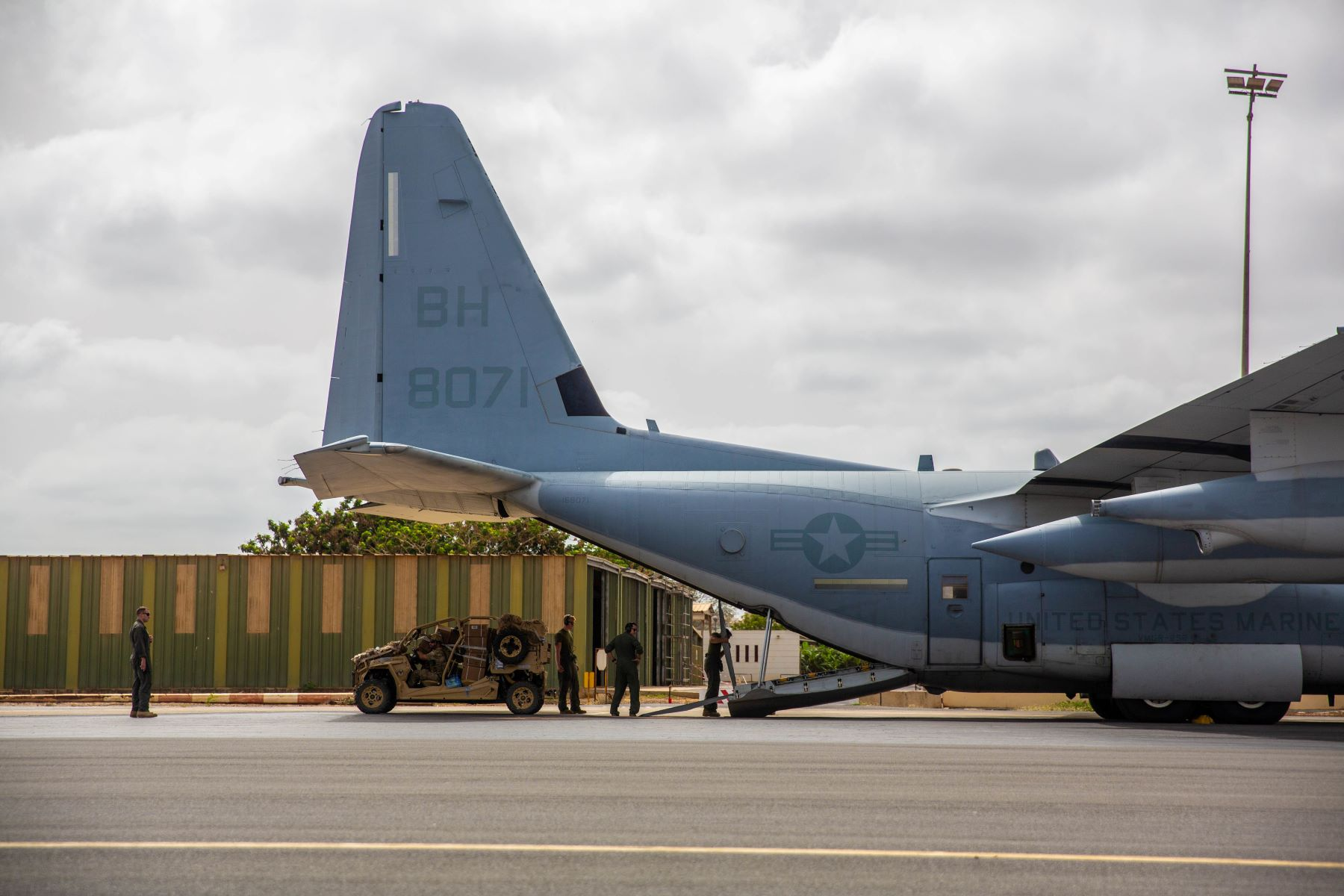 Navy and Marine C-130s Still Flying After Air Force Found 'Atypical Cracks'