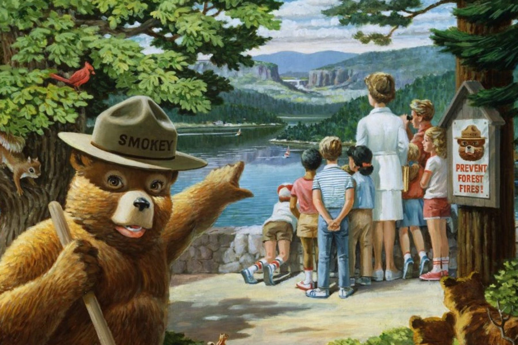 wwii veteran smokey bear turns 75 this year