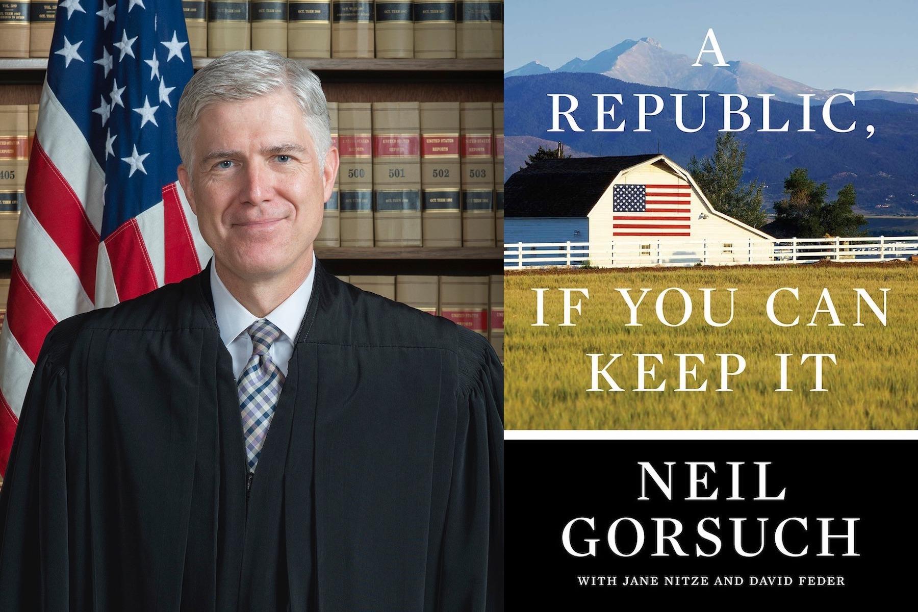 Justice Gorsuch Book Touts Scalia's Views and Civility in the Trump Era