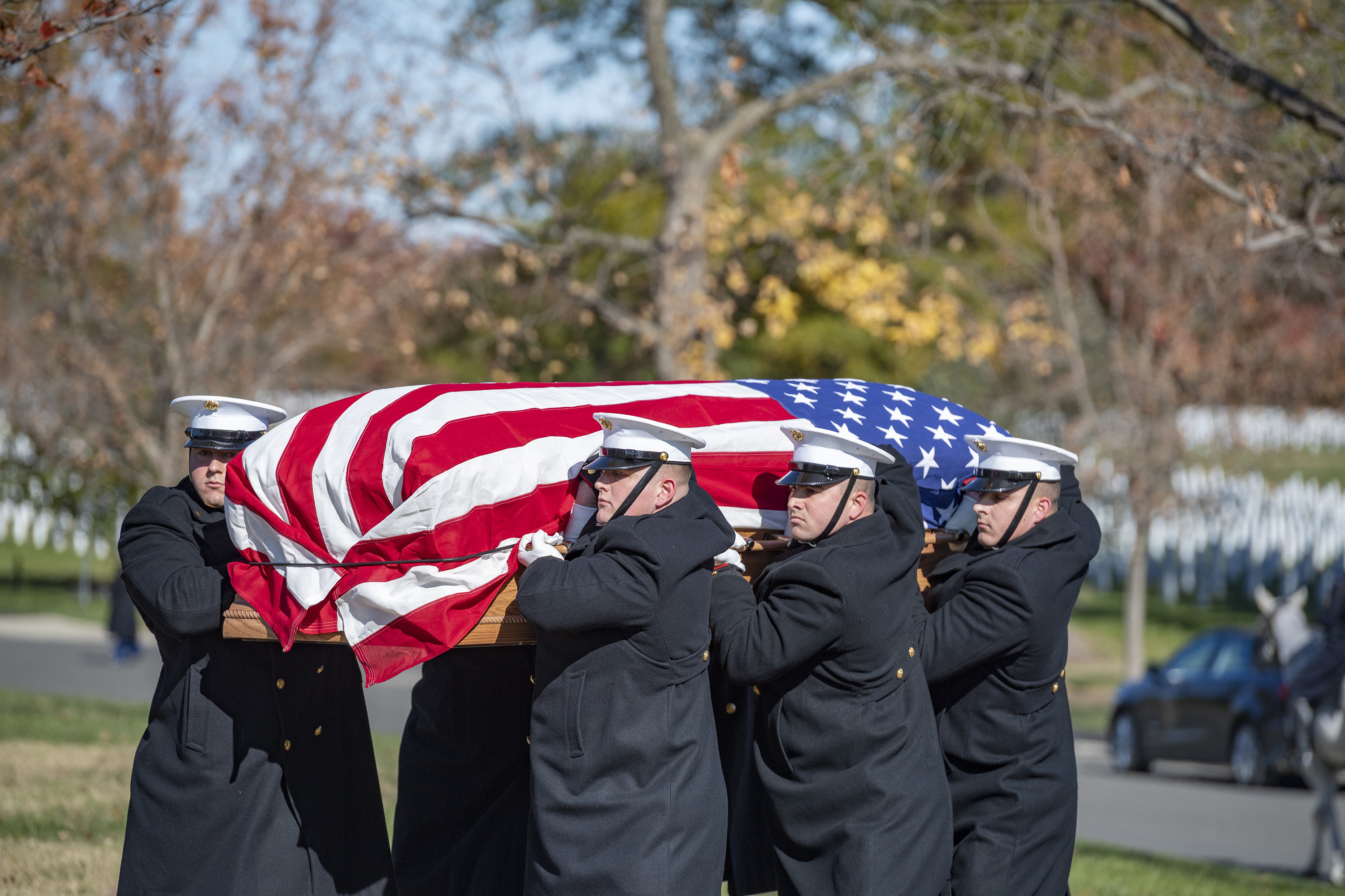 The Marine Corps Is Looking for New Body Bearers