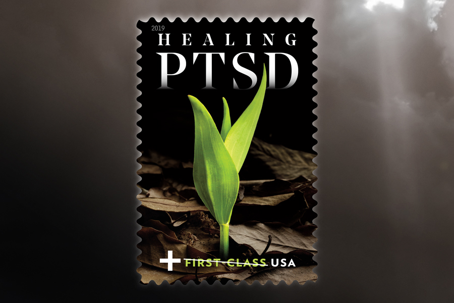 The USPS 'Healing PTSD' Stamp Will Raise Money for Veterans