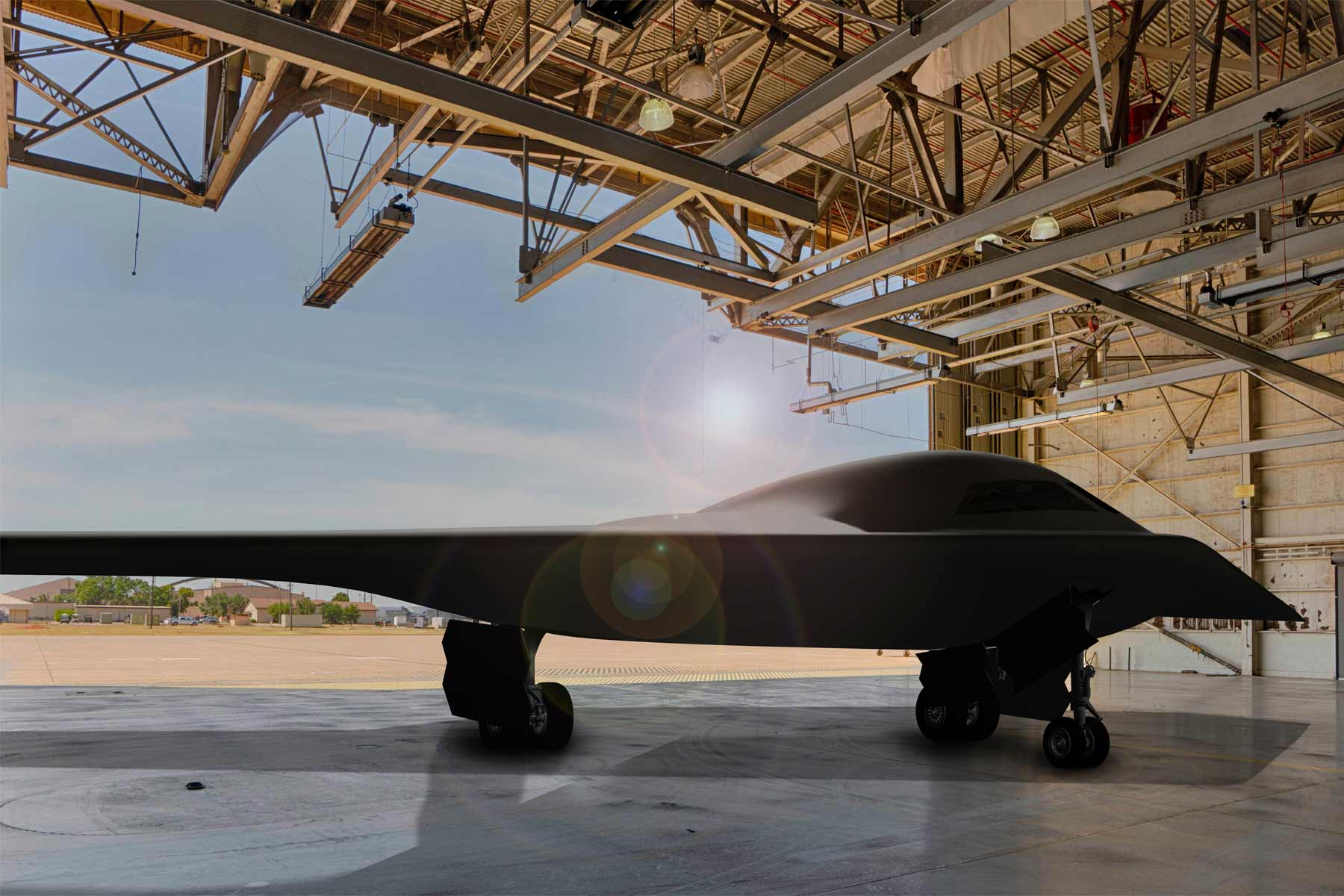 Air Force Finally Releases New Images Of Stealthy B 21 Future Bomber Military Com