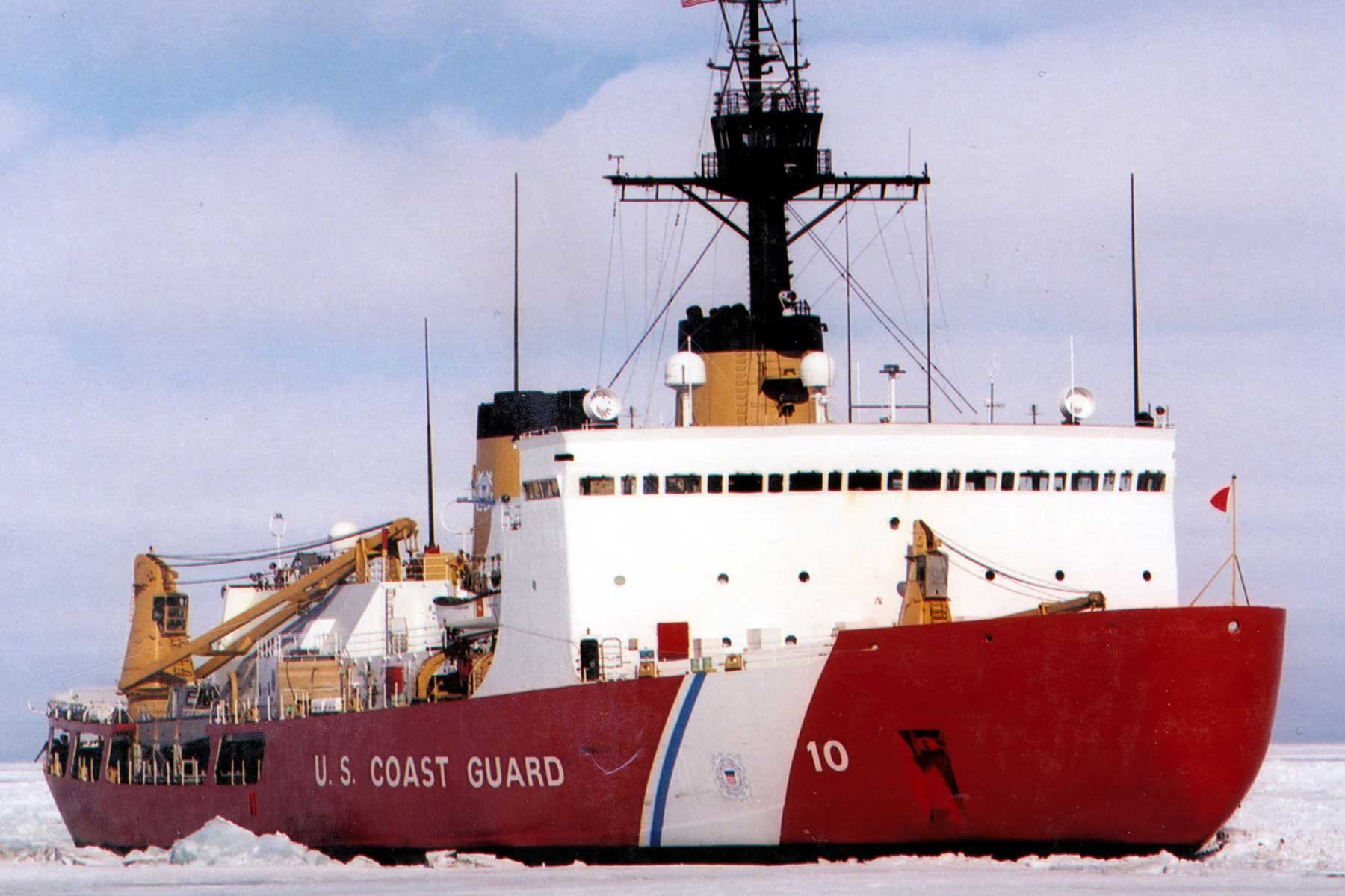 For the First Time in 26 Years, a US Polar Icebreaker Is Headed to the Arctic