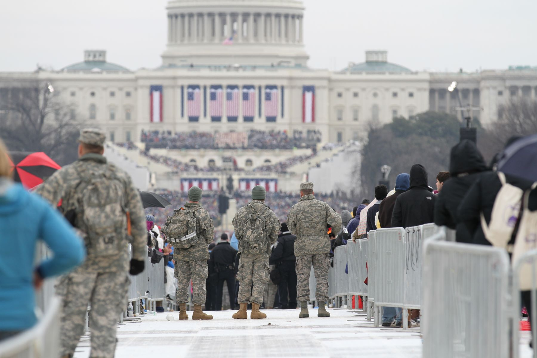 Thousands of National Guard Troops Prepare to Support Biden's Inauguration | Military.com