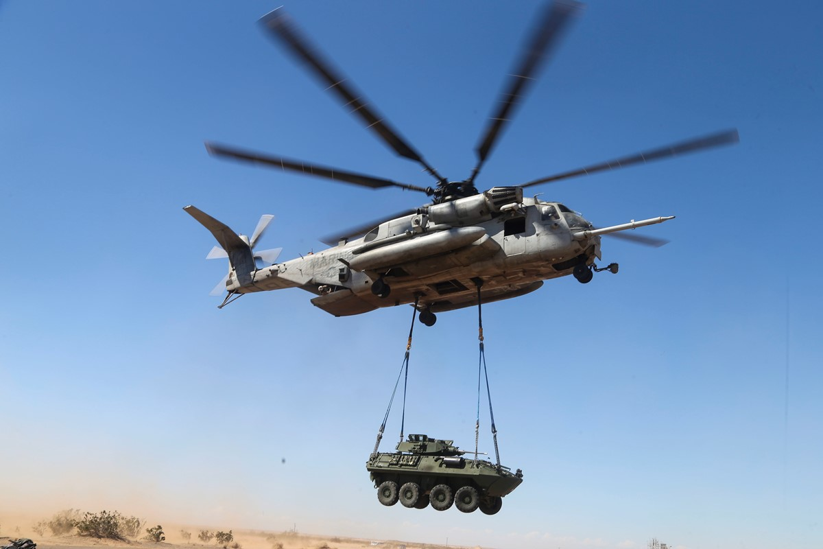 Marine Corps Wants Foreign Buyer To Curb CH-53K Cost