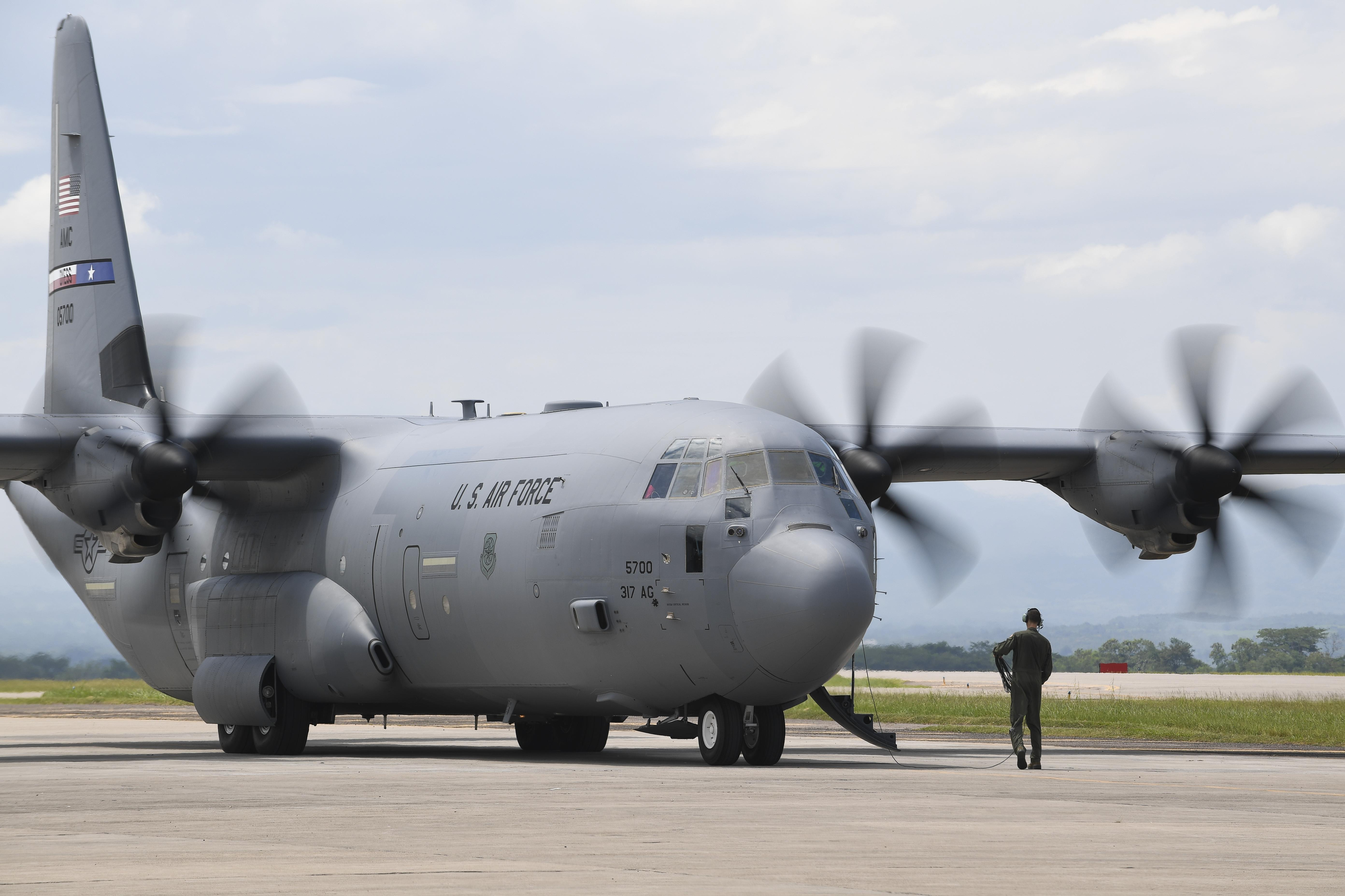 Air Force C 130s Bow Out Of International Air Exercise