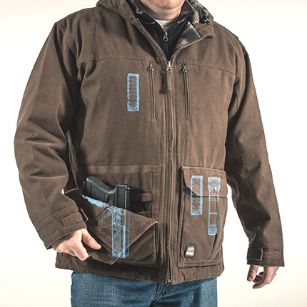 Berne Apparel's New Concealed-Carry Jacket