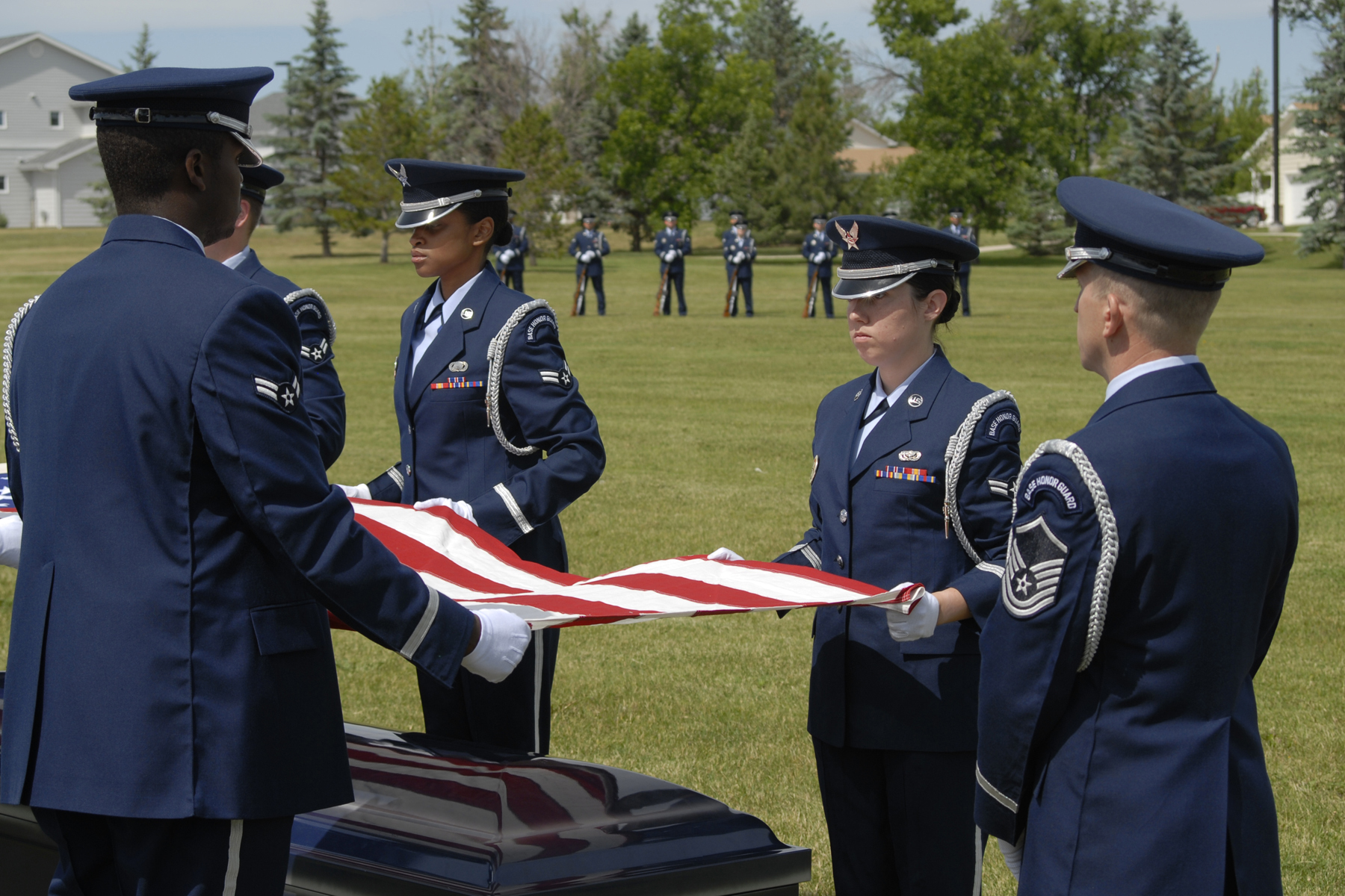Military Funeral Honors Military