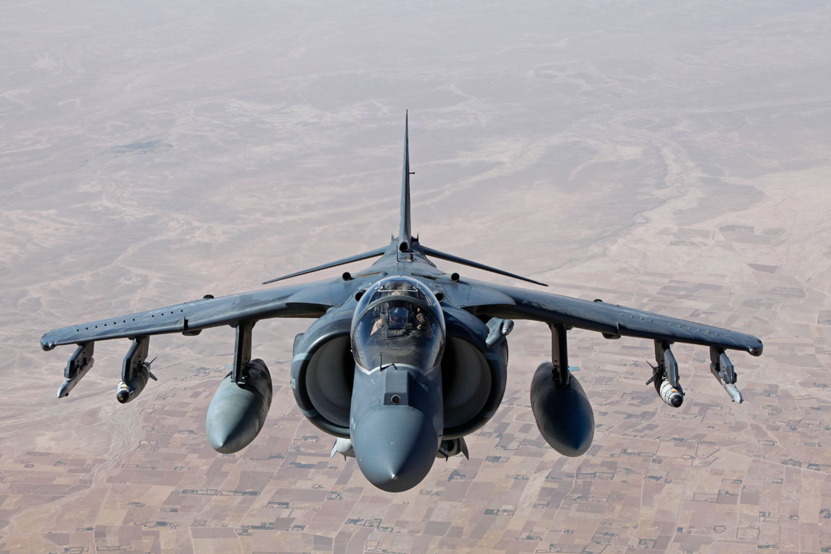 AV8B Harrier II  Military.com