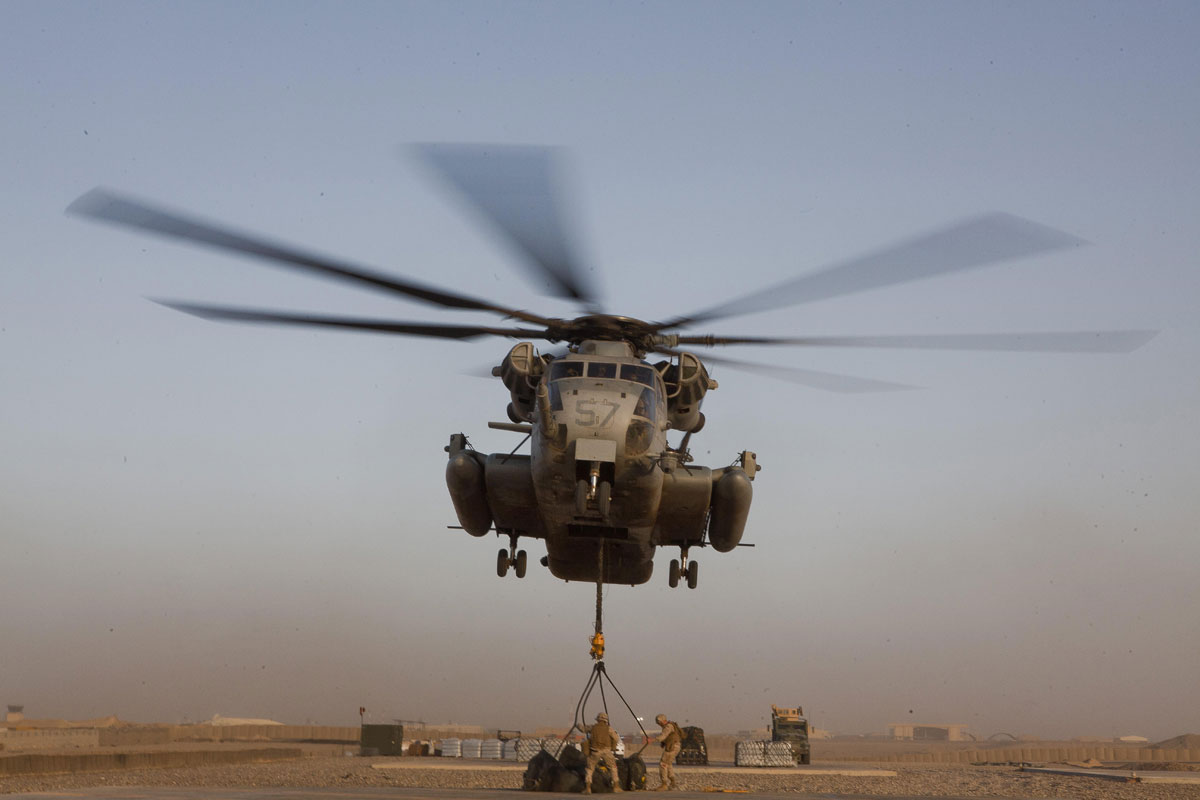 Ch 53e Super Stallion Helicopter Densus Wallpapers