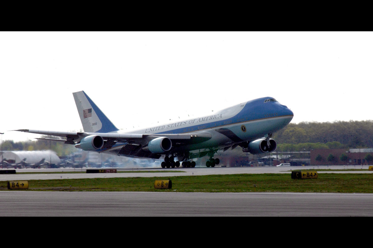 Vc 25 Air Force One Military Com