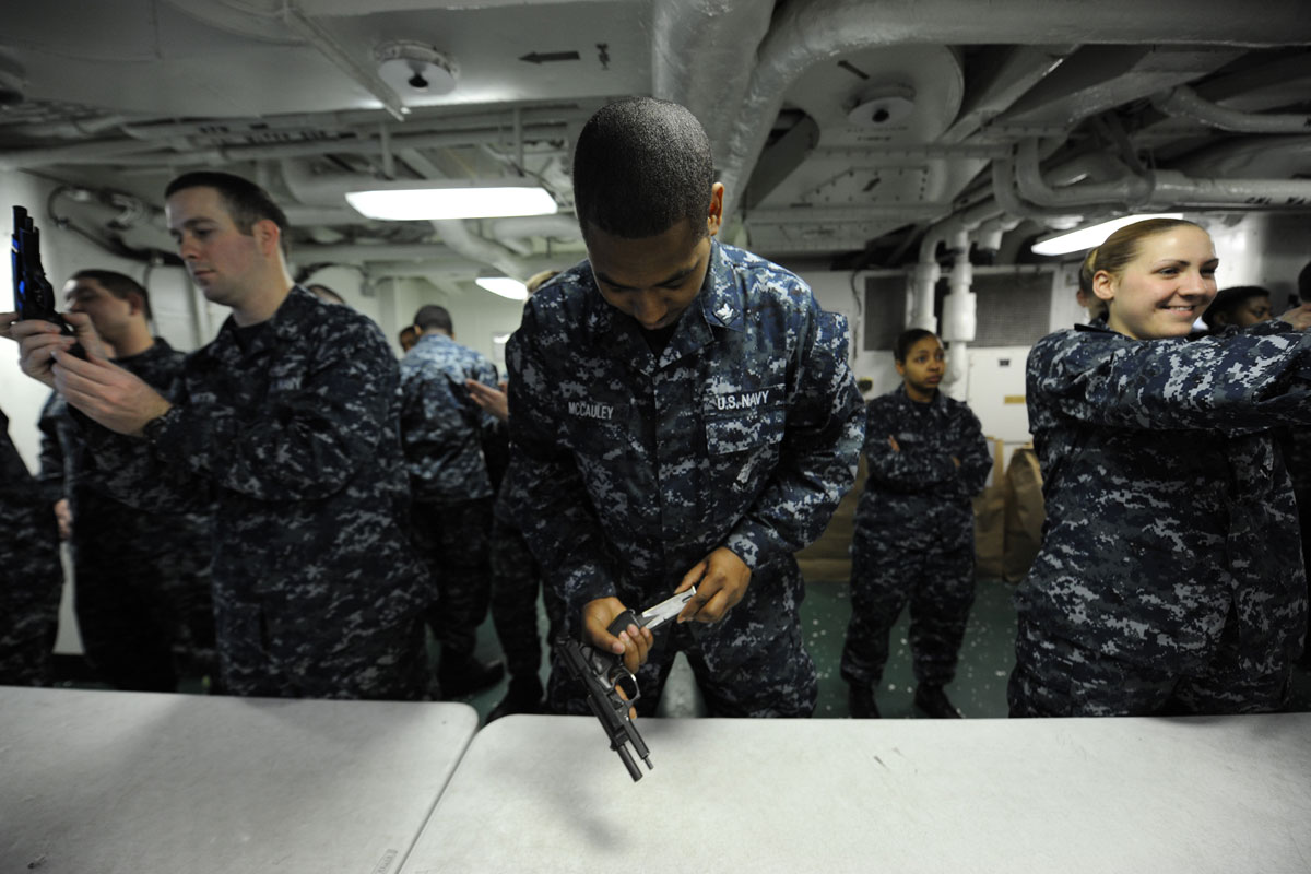 Navy Working Uniform