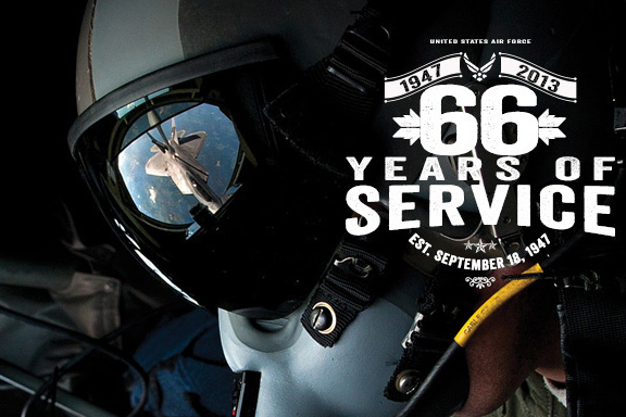 Air Force 66th Birthday Message | Military com