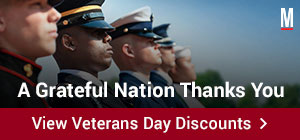 A Grateful Nation Thanks You. View Veterans Day Discounts.