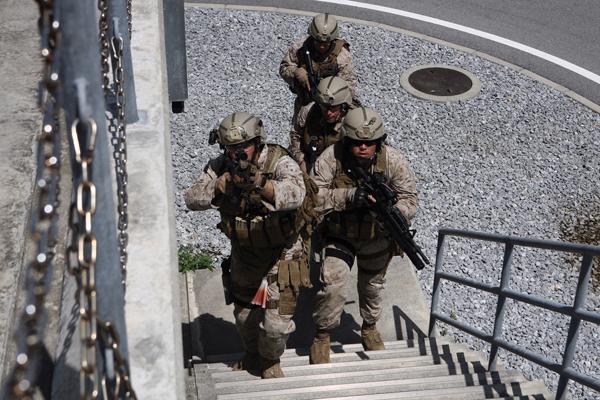 usmc security force