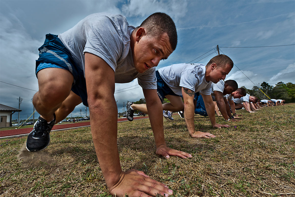Air Force BMT Physical Fitness Test | Military com