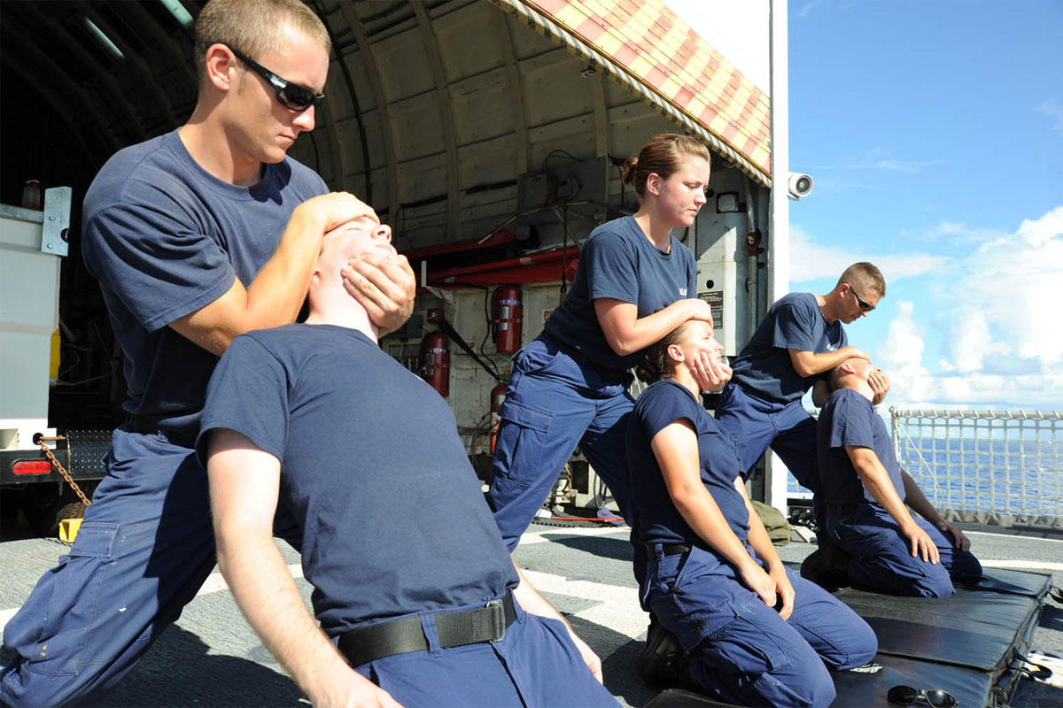 Coast Guard Fitness Military