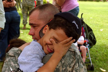 Children Coping With Deployment Military Com