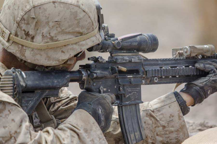 the marine corps is experimenting with a new service rifle