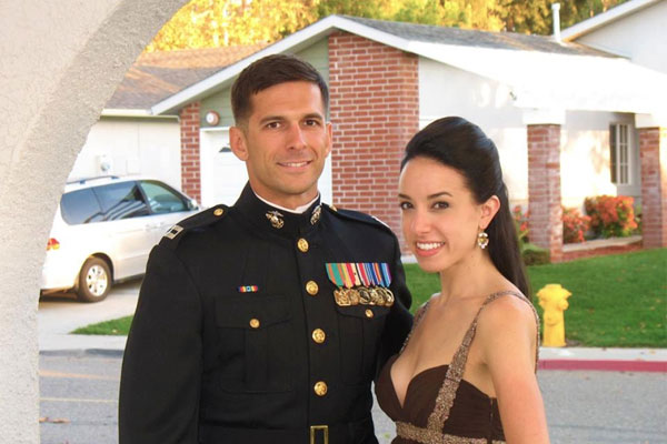marine with robotic leg braces to get bronze star