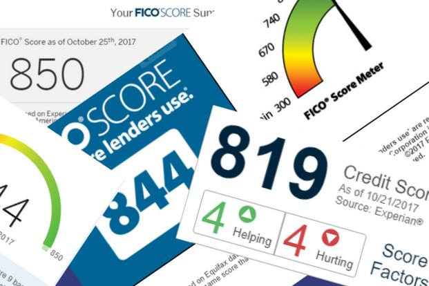 You have many different credit scores, from different sources and with different purposes.
