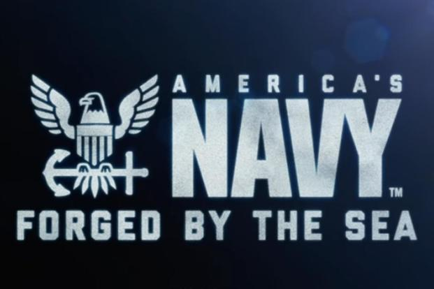 Screen grab from video announcing the Navy's news recruiting slogan. (Image: Navy)