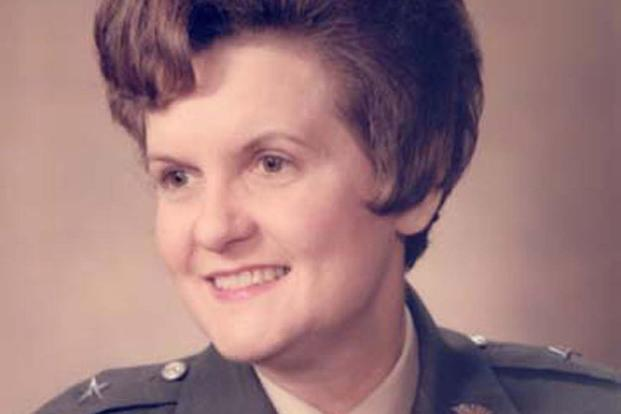 Anna Mae Hays, who pioneered the service's nurse corps and became the U.S military's first female general. (Army Photo)