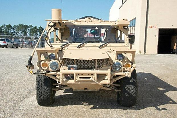 The Ground Mobility Vehicle is designed to be internally transportable via CH-47 Helicopter as well as U.S. Air Force C--130 Hercules and C-17 Globemaster III heavy lift aircraft. (U.S. Army file photo)