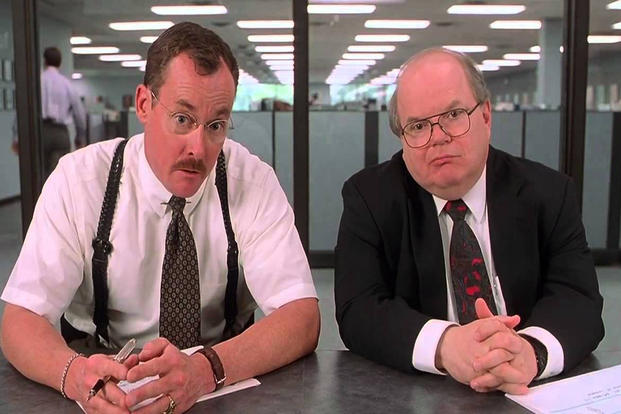 Scene From Office Space (Photo Courtesy Of 20th Century Fox).