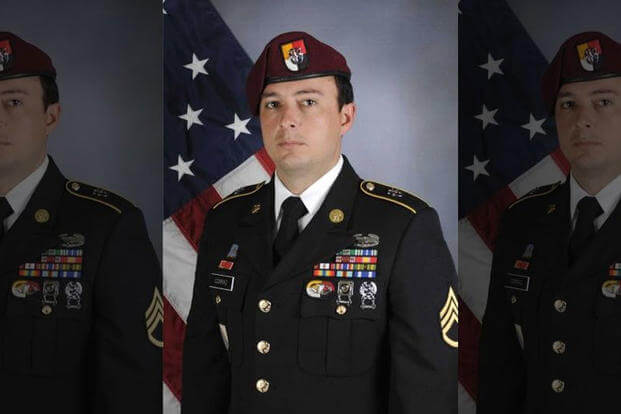 Staff Sgt. Alexander W. Conrad, 26, of Chandler, Ariz., was killed Friday in an ambush in Somalia, U.S. military officials said. (DoD photo)